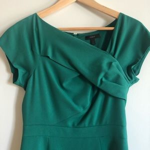 Origami kelly green dress.  Perfect for events.